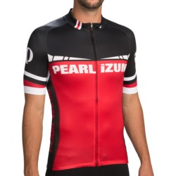 Pearl Izumi P.R.O. In-R-Cool® Cycling Jersey - Limited Edition, Full Zip, Short Sleeve (For Men) in Post Up True Red