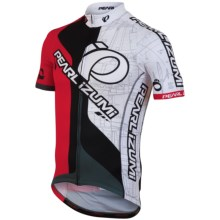 Pearl Izumi P.R.O. In-R-Cool® Cycling Jersey - Limited Edition, Full Zip, Short Sleeve (For Men) in Team Pi True Red/White - Closeouts