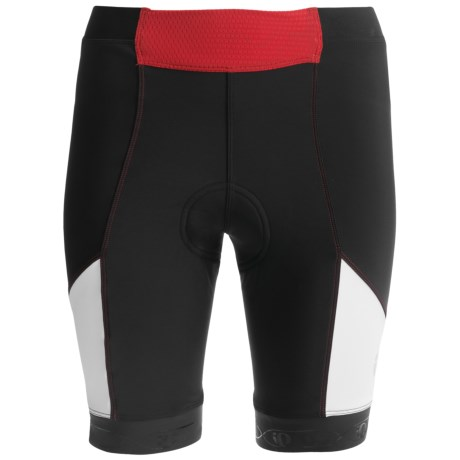 Pearl Izumi PRO In-R-Cool Cycling Shorts - UPF 50+ (For Women) in Black/True Red 2