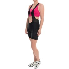 Pearl Izumi P.R.O. In-R-Cool® Drop Tail Cycling Bib Shorts (For Women) in Black - Closeouts