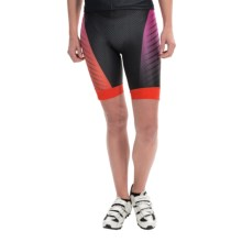 Pearl Izumi P.R.O. In-R-Cool® Triathlon Shorts (For Women) in Black/Hot Pink - Closeouts