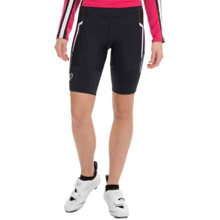 Pearl Izumi P.R.O. Leader Cycling Shorts (For Women) in Black/White - Closeouts