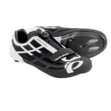Pearl Izumi P.R.O. Leader II Road Cycling Shoes (For Men) in Black/White - Closeouts