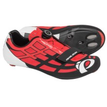 Pearl Izumi P.R.O. Leader II Road Cycling Shoes (For Men) in Firey Red/Black - Closeouts