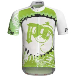 Pearl Izumi P.R.O. LTD Cycling Jersey - UPF 40+, Short Sleeve (For Men) in Sustain Black