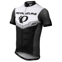 Pearl Izumi P.R.O. LTD Speed Short Sleeve Cycling Jersey - UPF 40, Full Zip, Short Sleeve (For Men) in Pro Team Black - Closeouts