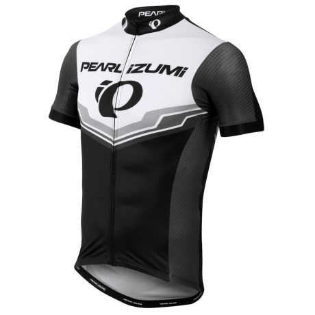 Pearl Izumi PRO LTD Speed Short Sleeve Cycling Jersey UPF 40 Full Zip Short Sleeve For Men