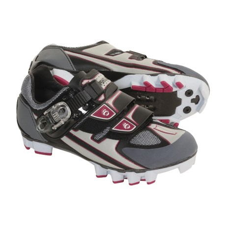 Pearl Izumi P.R.O. MTB Cycling Shoes - SPD (For Women) in Black/Vapor