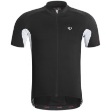 Pearl Izumi P.R.O. Octane Full-Zip Cycling Jersey - UPF 40+, Short Sleeve (For Men) in Black/White - Closeouts