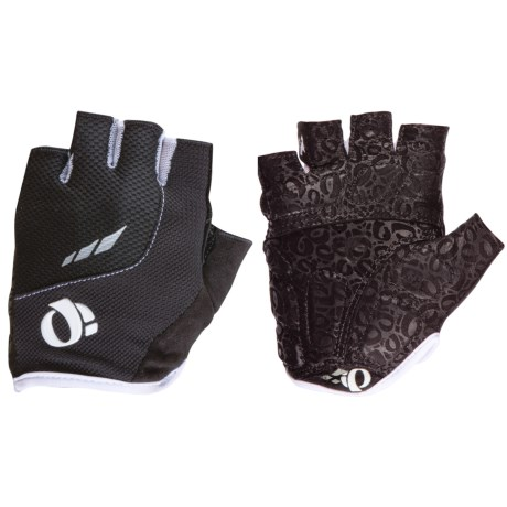 Pearl Izumi P.R.O. Pittards® Gel Cycling Gloves - Fingerless (For Women) in Black