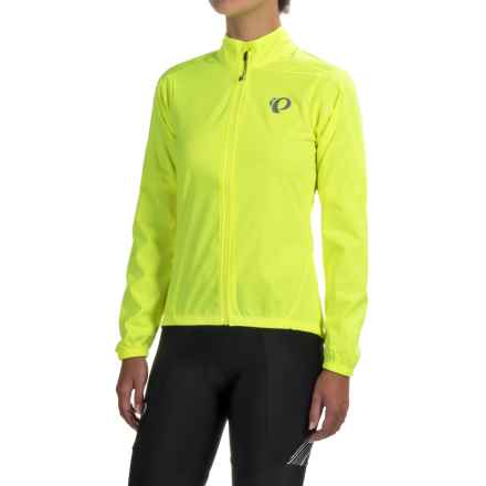 Pearl Izumi P.R.O. Pursuit Aero Jacket (For Women) in Screaming Yellow - Closeouts