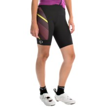 Pearl Izumi P.R.O. Pursuit Cycling Shorts - UPF 50+ (For Women) in Black/Tibetan Red - Closeouts