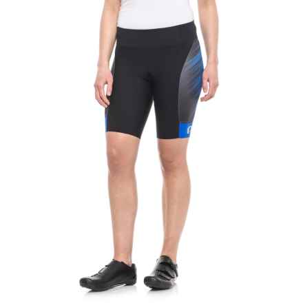 Pearl Izumi P.R.O. Pursuit Cycling Shorts - UPF 50+ (For Women) in Dazzling Blue Streamline - Closeouts