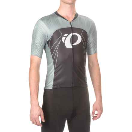 Pearl Izumi P.R.O Pursuit Speed Cycling Jersey - UPF 40+, Short Sleeve (For Men) in Pro Tm Smoked Pearl - Closeouts
