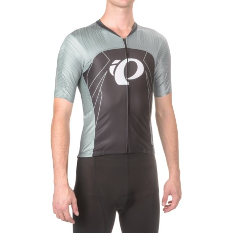 Pearl Izumi P.R.O Pursuit Speed Cycling Jersey - UPF 40+, Short Sleeve (For Men) in Pro Tm Smoked Pearl