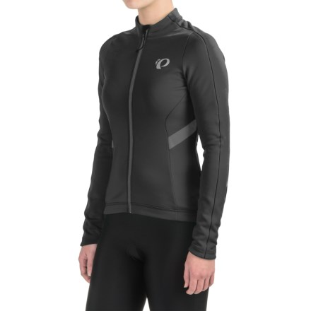 ebec81db37 Pearl Izumi P.R.O. Pursuit Thermal Cycling Jersey - Long Sleeve (For Women)  in Black