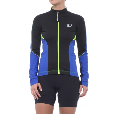 Pearl Izumi P.R.O. Pursuit Wind Cycling Jersey - Long Sleeve (For Women) in  Dazzling 23eb368c2