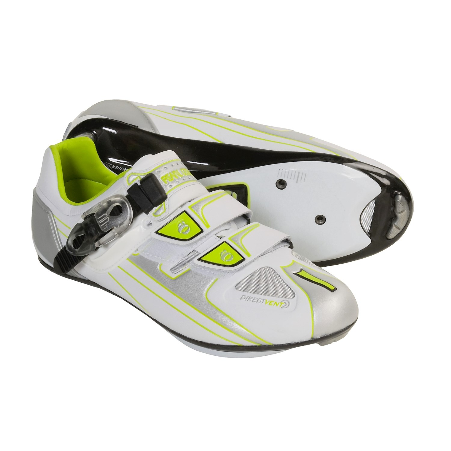 Pearl Izumi P.R.O. Road Cycling Shoes - 3-Hole (For Women) in White