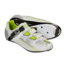 Pearl Izumi P.R.O. Road Cycling Shoes - 3-Hole (For Women) in White/ Chrome - Closeouts