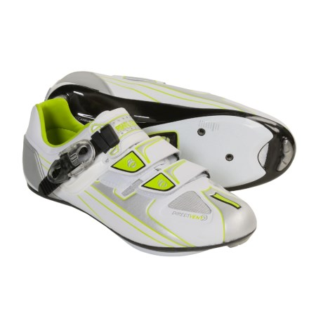 Pearl Izumi P.R.O. Road Cycling Shoes - 3-Hole (For Women) in White/ Chrome