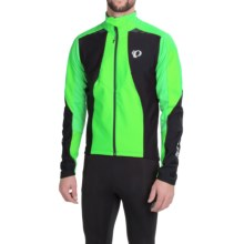 Pearl Izumi Pro Soft Shell 180 Cycling Jacket (For Men) in Screaming Green/Black - Closeouts