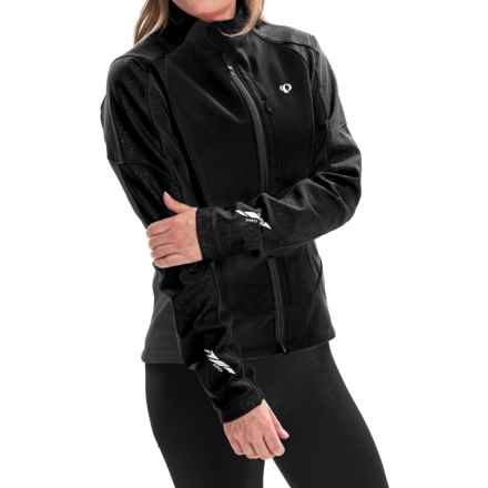 Pearl Izumi P.R.O. Soft Shell 180 Cycling Jacket (For Women) in Black - Closeouts