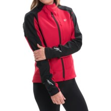 Pearl Izumi P.R.O. Soft Shell 180 Cycling Jacket (For Women) in Crimson - Closeouts