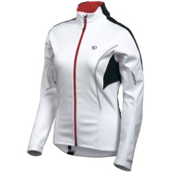 Pearl Izumi P.R.O. Soft Shell 3x1 Jacket - 3-in-1 (For Women) in White