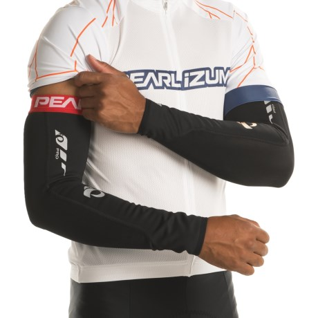 Pearl Izumi P.R.O. Soft Shell Arm Warmers in Black