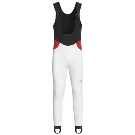 Pearl Izumi P.R.O. Soft Shell Cycling Bib Tights (For Men) in White/Black