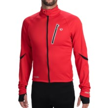 Pearl Izumi P.R.O. Soft Shell Cycling Jacket (For Men) in True Red/Black - Closeouts