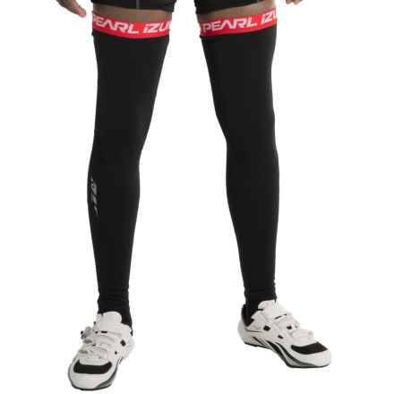 Pearl Izumi P.R.O. Soft Shell Leg Warmers (For Men and Women) in Black - Closeouts