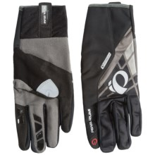 Pearl Izumi P.R.O. Soft Shell Lite Bike Gloves (For Men and Women) in Black - Closeouts