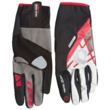 Pearl Izumi P.R.O. Soft Shell Lite Bike Gloves (For Men and Women) in White - Closeouts