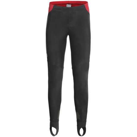 Pearl Izumi P.R.O. Soft Shell Tights (For Men) in Black/Black