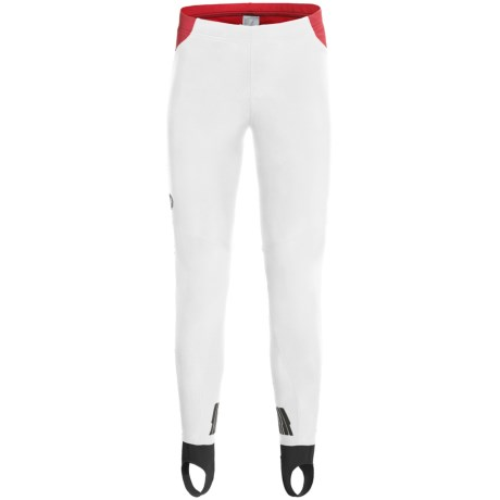 Pearl Izumi P.R.O. Soft Shell Tights (For Men) in White/Black