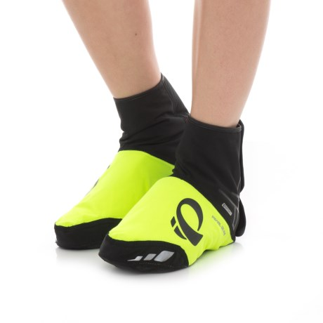 Pearl Izumi P.R.O. Softshell WxB PrimaLoft® Cycling Shoe Covers - Waterproof, Insulated in Screaming Yellow/Black