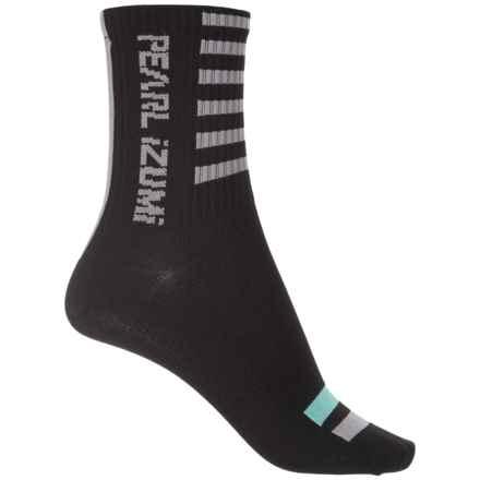 Pearl Izumi P.R.O. Tall Socks - Crew (For Women) in Black - Closeouts