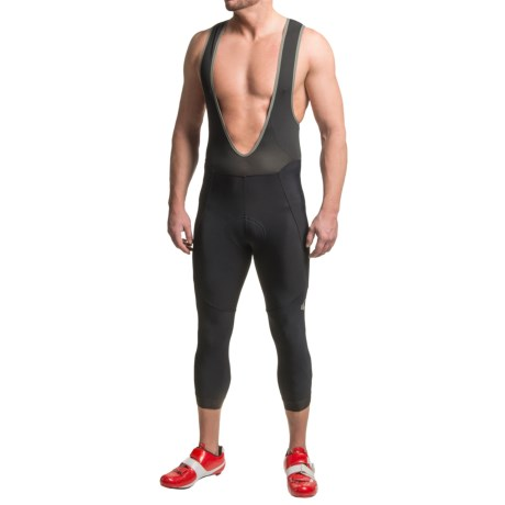 Pearl Izumi P.R.O. Thermal 3/4 Bib Tights (For Men) in Black/Black