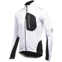 Pearl Izumi P.R.O. Thermal Cycling Jersey - UPF 50+, Full Zip, Long Sleeve (For Men) in White/Black - Closeouts
