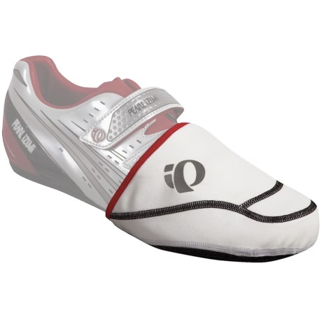 Pearl Izumi P.R.O. Thermal Cycling Toe Covers - Pair (For Men and Women) in White