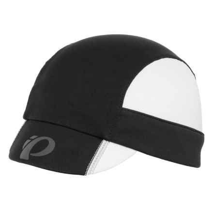 Pearl Izumi P.R.O. Transfer Cycling Cap (For Men and Women) in Black/White - Closeouts