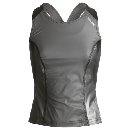 Pearl Izumi P.R.O. Tri Top - UPF 50+ (For Women) in Shadow Grey/Black