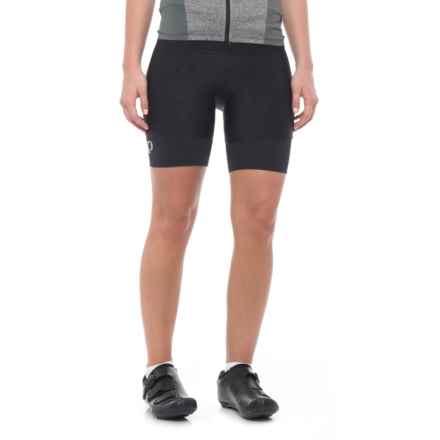 Pearl Izumi Pursuit Attack Bike Shorts - UPF 50+ (For Women) in Black Texture - Closeouts