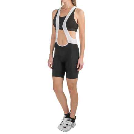 Pearl Izumi Pursuit Attack Cycling Bib Shorts (For Women) in Black - Closeouts