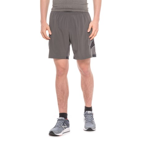 "Pearl Izumi Pursuit Running Shorts - 7"", Built-In Brief (For Men) in Shadow Grey"