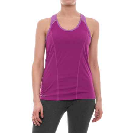 Pearl Izumi Pursuit Singlet - UPF 50+ (For Women) in Purple Wine/Iris Orchid - Closeouts