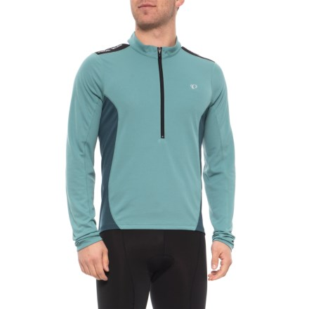 cfca662b5 Pearl Izumi Quest Cycling Jersey - Long Sleeve (For Men) in Arctic Midnight