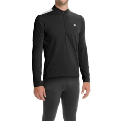 Pearl Izumi Quest Cycling Jersey - Long Sleeve (For Men) in Black