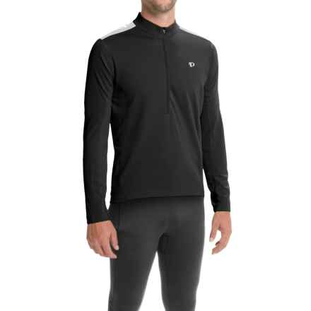 Pearl Izumi Quest Cycling Jersey - Long Sleeve (For Men) in Black - Closeouts